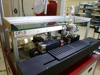 Watch strap testing machine